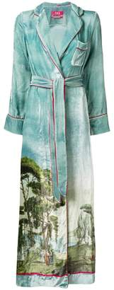 Roda F.R.S For Restless Sleepers printed robe
