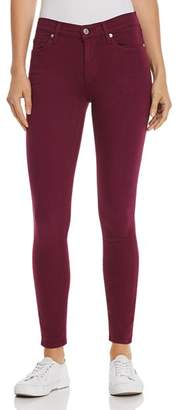 7 For All Mankind Ankle Skinny Jeans in Sangria