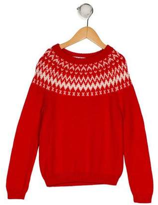 Brooks Brothers Boys' Wool Intarsia Sweater