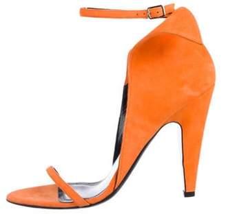 Calvin Klein 2017 Carmin Ankle-Strap Sandals Orange 2017 Carmin Ankle-Strap Sandals