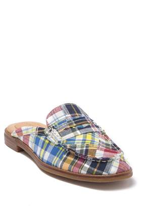 Sperry Seaport Fina Madras Loafer Mule