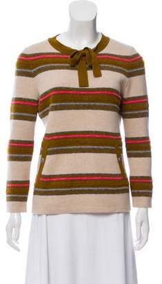 Chanel Cashmere Striped Sweater