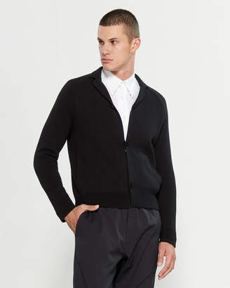 Emporio Armani Black Long Sleeve Cardigan