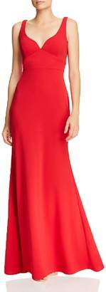 Aqua Scuba Crepe Gown - 100% Exclusive