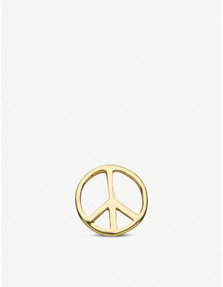 LOQUET Peace 18ct yellow-gold charm