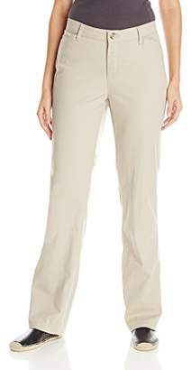 Lee Indigo Women's Jane Stretch Twill Straight-Leg Pant