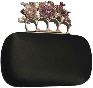 Alexander McQueen Knuckle silk clutch bag