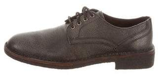 John Varvatos Grain Leather Derby Shoes w/ Tags