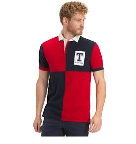 Tommy Hilfiger Wcc Colorblock Rugby Reg Polo