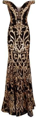 Jovani Baroque Gown