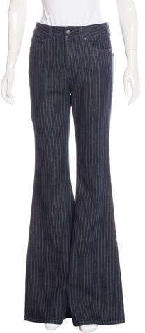 Stella McCartneyStella McCartney Striped Flared Jeans w/ Tags