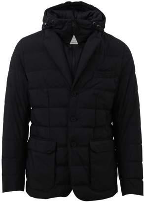 Moncler Blue Vernoux Blazer Jacket