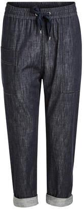 Brunello Cucinelli Drawstring Denim Pants