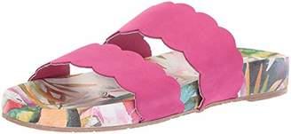Kaanas Women's Pattaya Scalloped Pool Slide Fashion Sandal