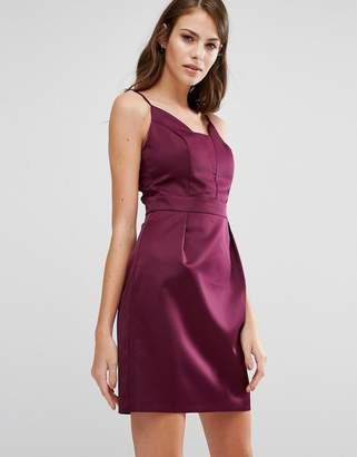Oasis Satin Tulip Cami Dress $98 thestylecure.com
