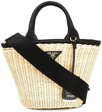Prada classic beach bag