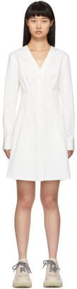 Tibi White Dominic Shirt Dress