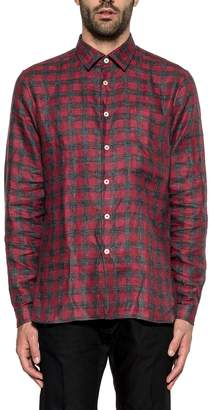 Xacus Red/gray Checked Shirt