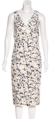 Michael Kors Batik Midi Dress w/ Tags