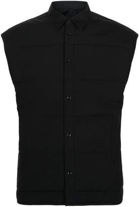Helmut Lang Quilted Cotton Gilet