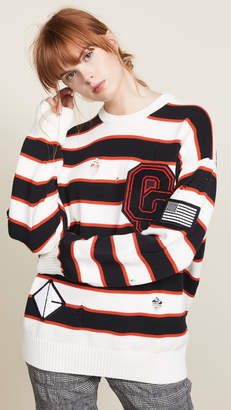 Opening Ceremony Varsity Stripe Sweater