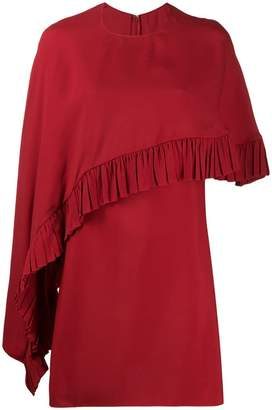 Valentino draped mini dress