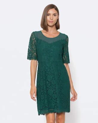 Alannah Hill Lace Up My Heart Dress