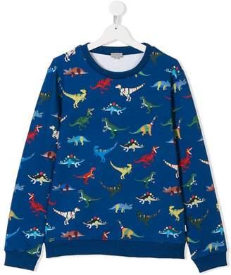 Paul Smith TEEN dinosaur print sweatshirt