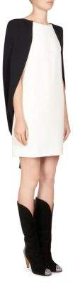 Givenchy Cape Shift Dress