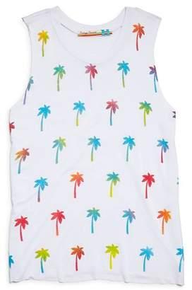 8fd84a8431690 Vintage Havana Girls  Palm Tree Tank - Big Kid
