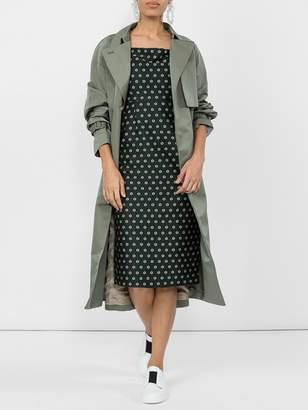 ALEXACHUNG Off-shoulder sheath dress