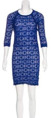 Etoile Isabel Marant Knit Lace Dress