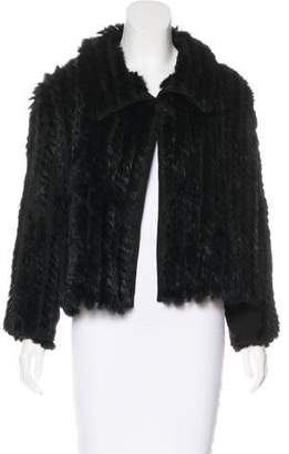 Marc by Marc Jacobs Knitted Fur Jacket