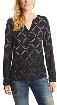Cecil Women's Check Degradee Blouse