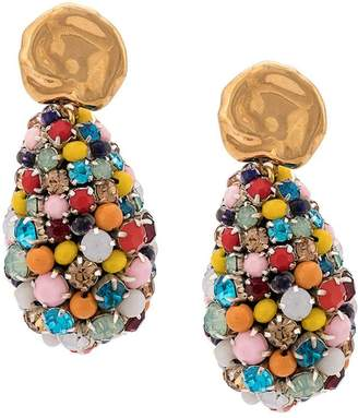 Lizzie Fortunato Roman cluster bead earrings