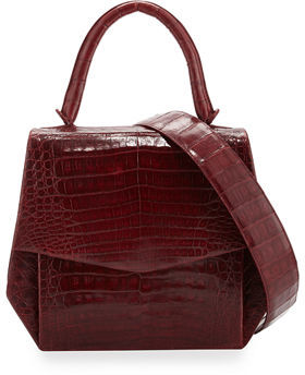 Nancy Gonzalez Crocodile Medium Structured Top-Handle Bag $3,250 thestylecure.com