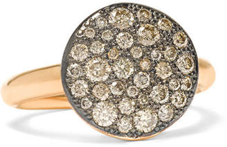Pomellato Sabbia 18-karat Rose Gold Diamond Ring