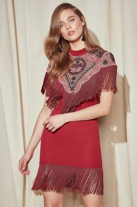 Nasty Gal Studio Alexandra Fringe Dress