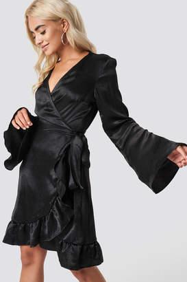 Rut & Circle Rut&Circle Sofia Wrap Frill Dress