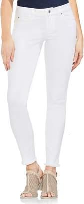 Vince Camuto Fray Hem Skinny Jeans