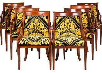 Set of 8 Versace-Style Empire Dining Chairs