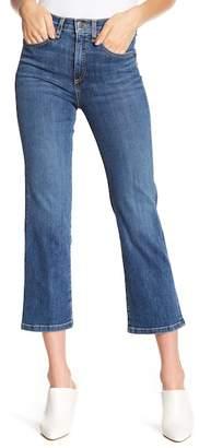 Veronica Beard Jackie Crop Straight Leg Jeans