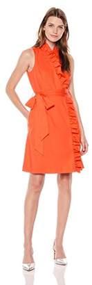 Eliza J Women's Ruffle Sleeveless Wrap Dress