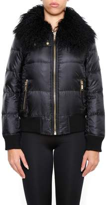 MICHAEL Michael Kors Jacket With Mongolia Collar