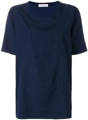Le Tricot Perugia short-sleeve blouse