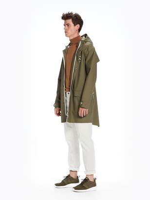Scotch & Soda Rain Parka Amsterdam Proof