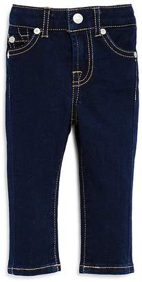 7 For All Mankind Girls' Dark-Wash Skinny Jeans - Baby