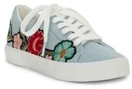 Jessica Simpson Dessa Denim Low-Top Sneakers