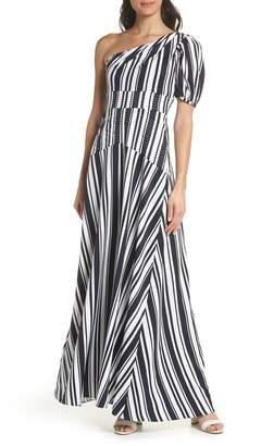 Foxiedox Victoria One-Shoulder Evening Dress