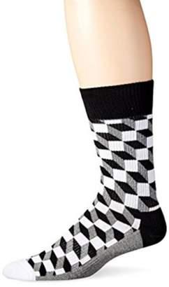 Generic Unisex Men's 1 Pack Comfortable Combed Cotton Crew Sock